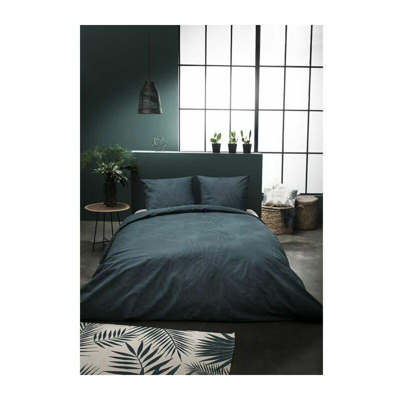 Parure de couette Jardin d'Hiver Don't Leaf Me - 100% coton - 1 Housse de couette + 2 Taies d'oreiller - 220 x 240 cm - Today