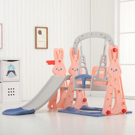 "main image of ""Toddler Climber Kids Slide Play Swing Set Indoor/Outdoor Playground"""