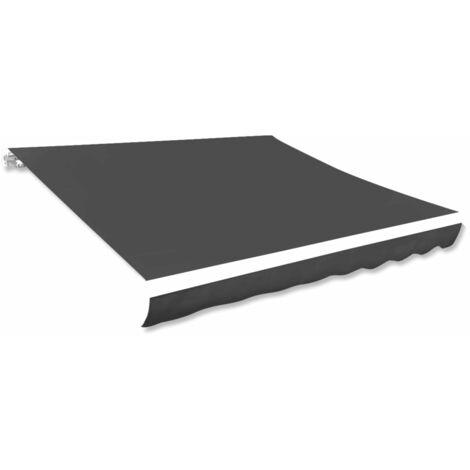 Toile d'auvent Anthracite 450x300 cm