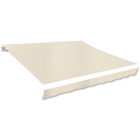 Toile d'auvent Crème 3 x 2,5 m (cadre non inclus)