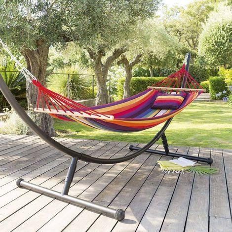 toile de hamac guatemala 200 x 100 cm rose 512064. Black Bedroom Furniture Sets. Home Design Ideas