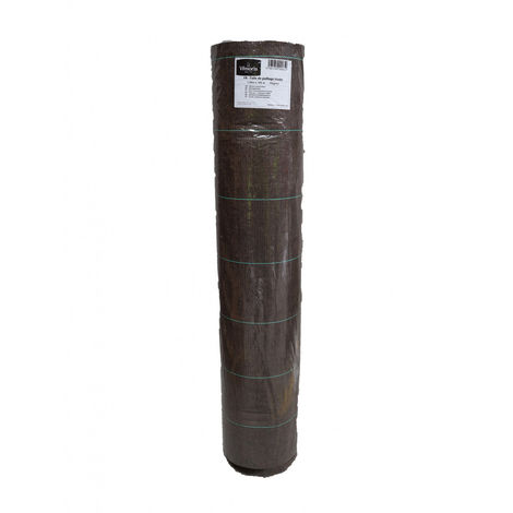 Toile de paillage marron tissée 100 g / m² 1.05m x 100m