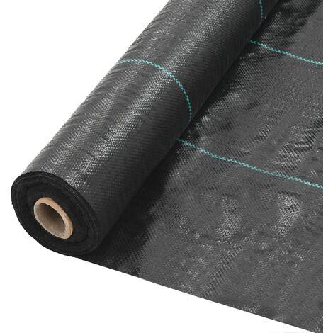 Toile de paillage PP 2 x 10 m Noir