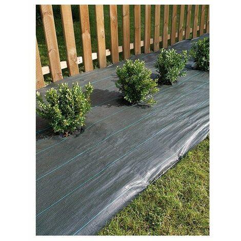 Toile de paillage verte Weedsol 90g/m²- plusieurs modèles disponibles
