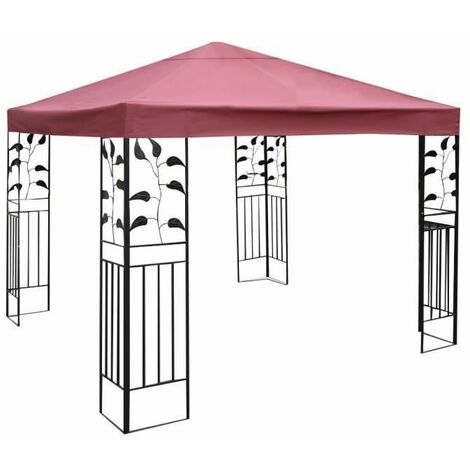 toile de rechange pour pavillon toile de toit pour tente. Black Bedroom Furniture Sets. Home Design Ideas