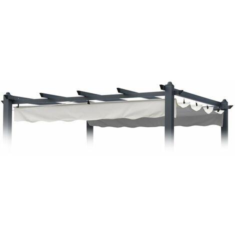 Toile de remplacement 230x230 pour toit de tonnelle avec protection uv