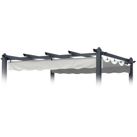Toile de remplacement pour toit de tonnelle 230x230 protection anti-UV