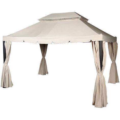 Toile de toit pour la tonnelle NAPOLI 3 x 4 m Sable