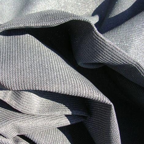 Toile d'ombrage perméable de 5x5x7m format triangle à poser sur structure pergola