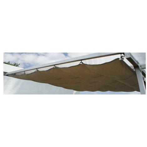 toile d'ombrage pour toit couv'terrasse 3x4 m - 35-806009