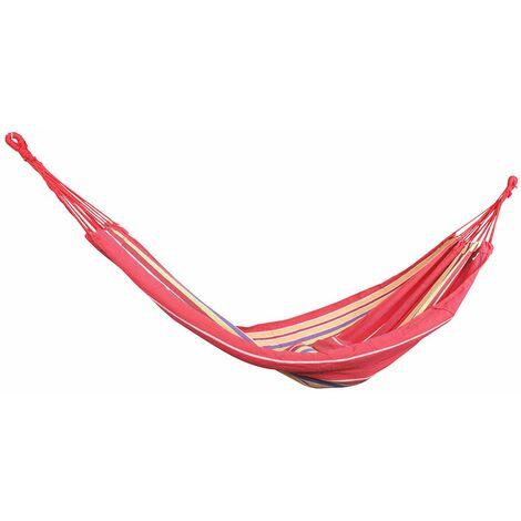 Toile hamac 280 cm rouge