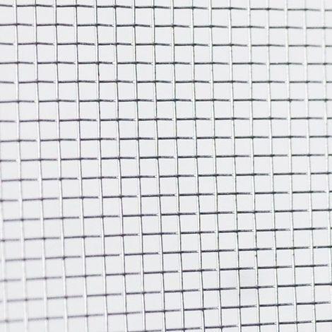 Toile moustiquaire à mailles fines en aluminium largeur 100 cm