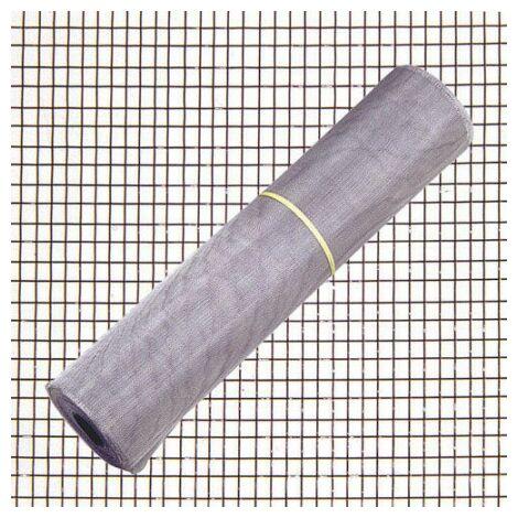 Toile moustiquaire aluminium 18 x 14/ 120 rouleau 30 mètres