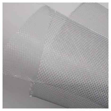 Toile moustiquaire aluminium en rouleau : 30 mètres x largeur 1.20 m , coloris gris - Gris