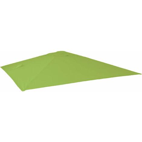 Toile pour parasol de luxe HHG-113, toile de remplacement pour parasol, 3,5x3,5m (Ø4,95m) 4kg