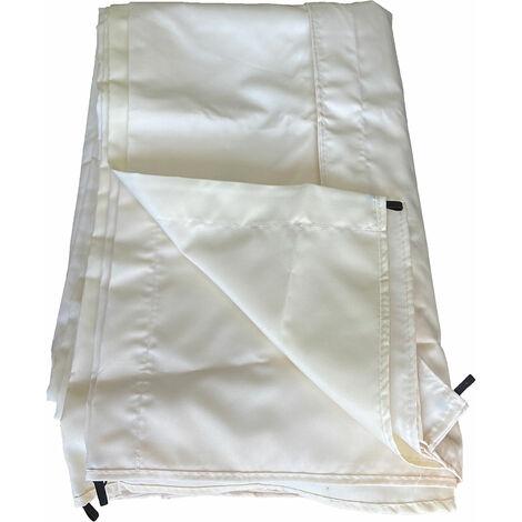 Toile pour pergola autoportante 3 × 4m CASSIS beige - Beige