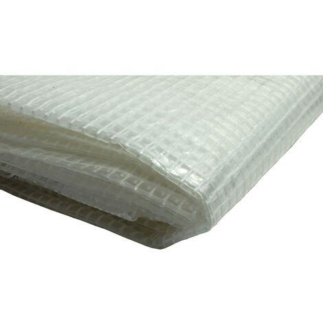 Bâche de tissus bâche 180g//m² blanc 8x12m Boots bâche protection bâche bâches de couverture