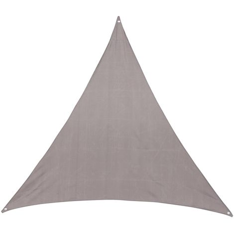 Toile solaire / Voile d'ombrage Anori - 3 x 3 x 3 m - Taupe