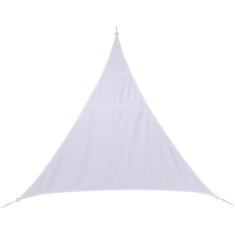 Toile solaire / Voile d'ombrage Curacao - 3 x 3 x 3 m. - Blanc