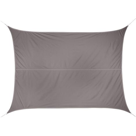 Toile solaire / Voile d'ombrage Curacao - 3 x 4 m. - Taupe