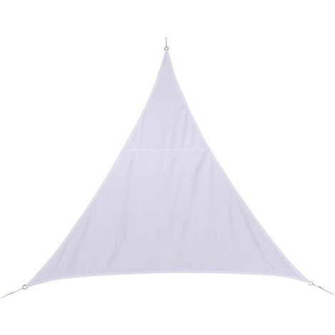 Toile solaire / Voile d'ombrage Curacao - 4 x 4 x 4 m. - Blanc