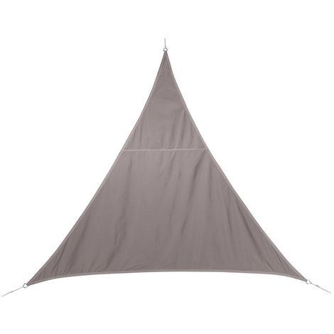 Toile solaire / Voile d'ombrage Curacao - 4 x 4 x 4 m. - Taupe