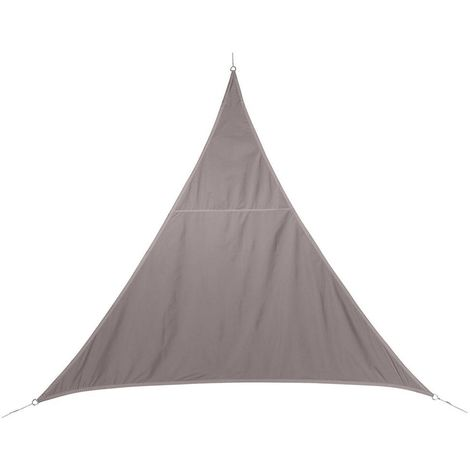 Toile solaire / Voile d'ombrage Curacao - 5 x 5 x 5 m. - Taupe