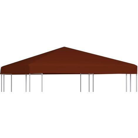 Toile supérieure de gazebo 310 g/m² 3x3 m Terre cuite
