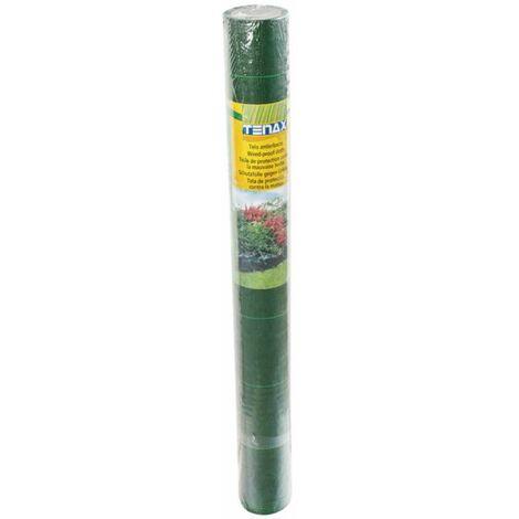 Toile tissée 1x10m verte 105 g/m2 - Vert