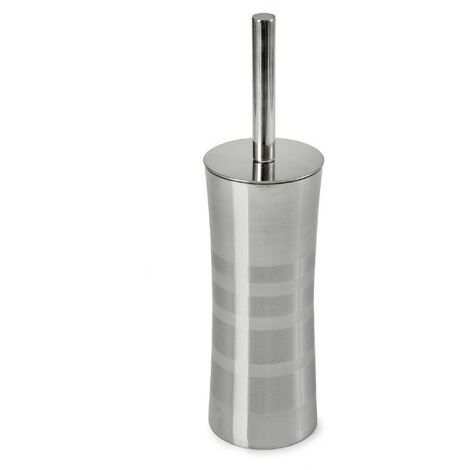 Toilet Brush & Holder - Stainless Steel/Matt