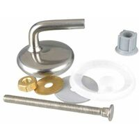 Toilet-fastener, brass, for thermo. WENKO