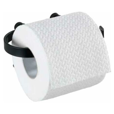 Toilet paper holder Classic Plus black WENKO