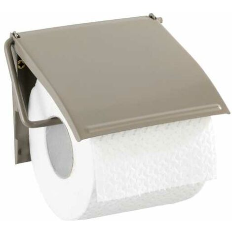 Toilet paper holder Cover taupe WENKO