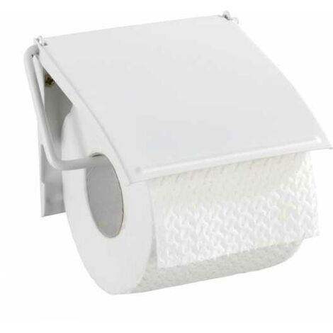 Toilet paper holder Cover white WENKO