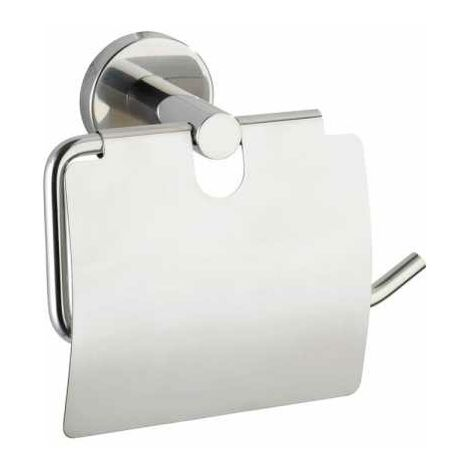 Toilet paper holder with cover Bosio WENKO