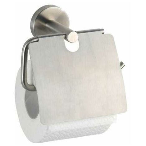 Toilet roll holder with lid Bosio Matt WENKO