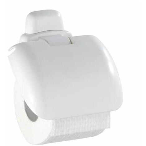 Toilet roll holder with lid Pure WENKO