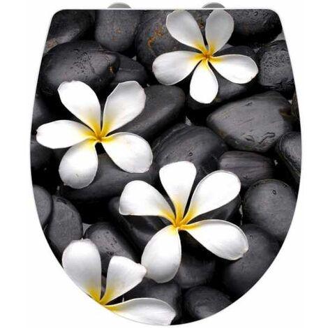 Toilet seat Bloom Acrylic WENKO