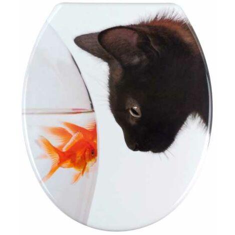 Toilet seat Fish & Cat WENKO