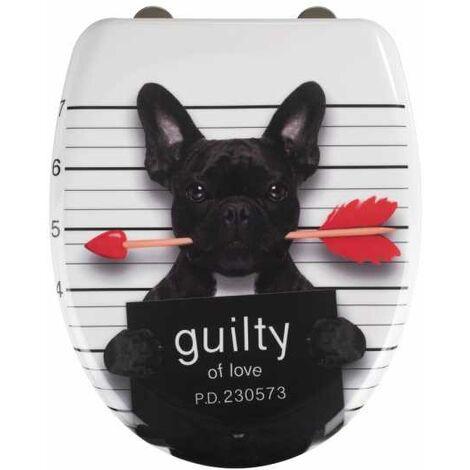 Toilet seat Guilty Dog WENKO