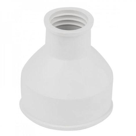 Toilet seat, high-pressure cistern, white clamp