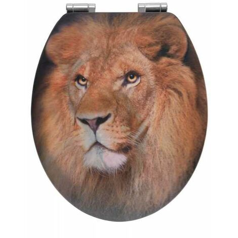 Toilet seat Lion with 3D effect WENKO