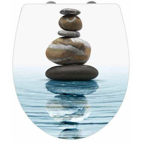 Toilet seat Meditation Acrylic WENKO