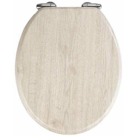 Toilet Seat Oak Grey WENKO