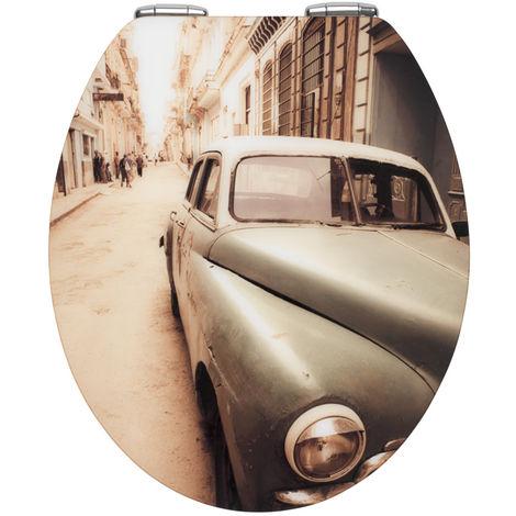 Toilet seat Old-Time Car Acrylic WENKO