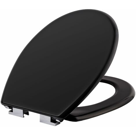 Toilet seat with design - soft close toilet seat, slow close toilet seat, round toilet seat