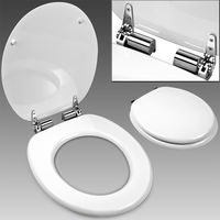 Toilet Seat with Lid MDF Replacement