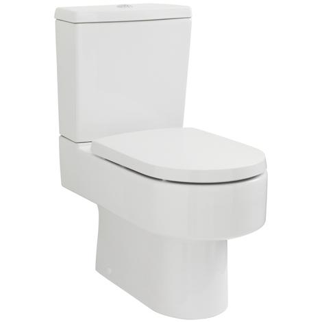 Toilette keramik mit sp lkasten und toilettensitz nch50t - Inodoros modernos ...