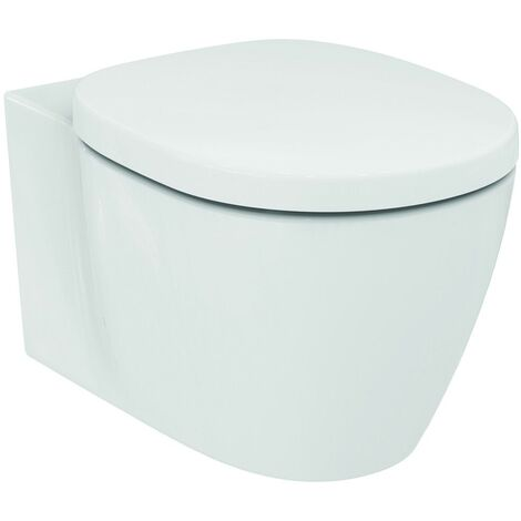 Toilette murale AquaBlade E0479 à chasse d'eau Standard Connect idéale, Coloris: Blanc avec Idéal Plus - E0479MA