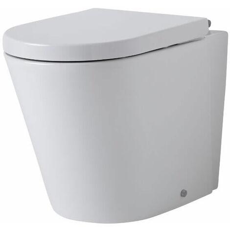 Toilette WC à poser 59 x 42 x 35cm